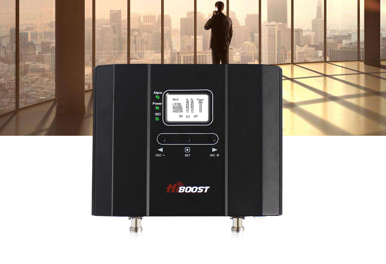 Industrial 50K - 4G Signal Booster for Best Cell Phone Coverage